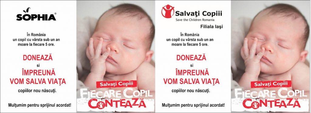Salvati Copiii si Sophia